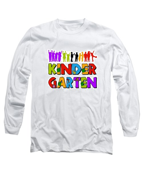 Kids Kindergarten Long Sleeve T-Shirt