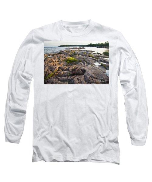 Killarney Granite Pink-4433 Long Sleeve T-Shirt