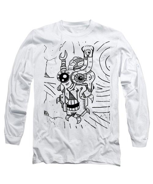Killer Robot Long Sleeve T-Shirt