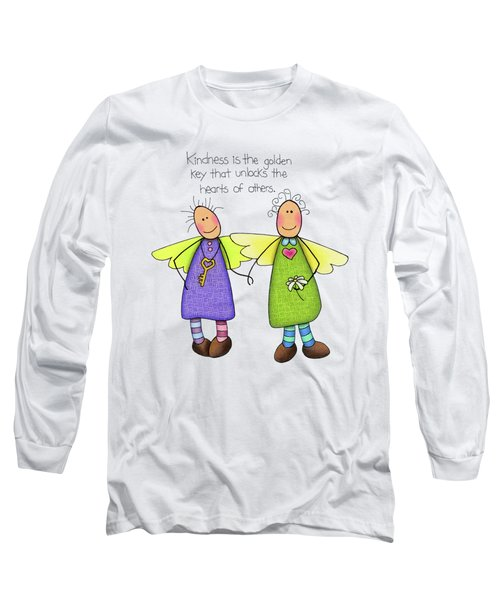 Kindness Long Sleeve T-Shirt by Sarah Batalka