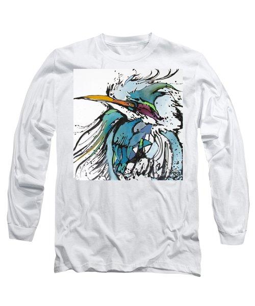 King Long Sleeve T-Shirt by Nicole Gaitan