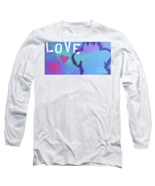 King Of My Heart Long Sleeve T-Shirt by Melissa Goodrich