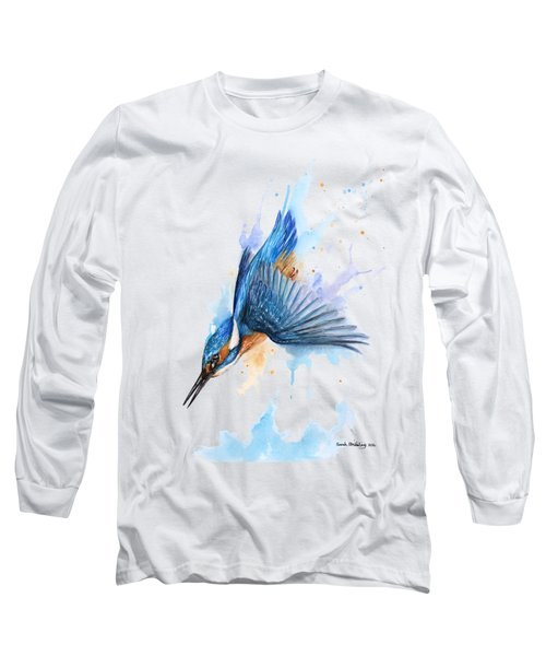 Kingfisher Diving Long Sleeve T-Shirt