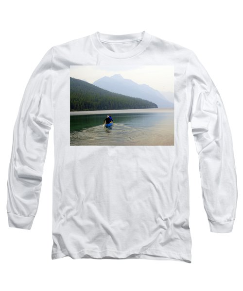 Kintla Lake Paddlers Long Sleeve T-Shirt