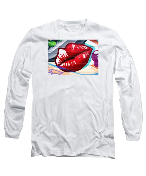 Kiss Me Now ... Long Sleeve T-Shirt by Juergen Weiss