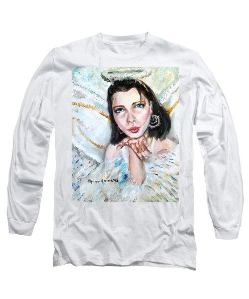 Kiss Of An Angel Long Sleeve T-Shirt
