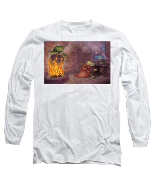 Kitchen Monsters Long Sleeve T-Shirt