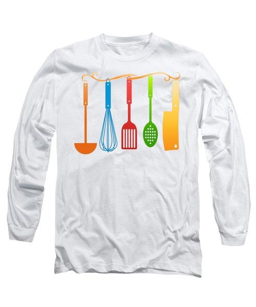 Kitchen Utensils Long Sleeve T-Shirt