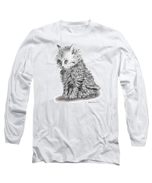 Kitten #1 Long Sleeve T-Shirt