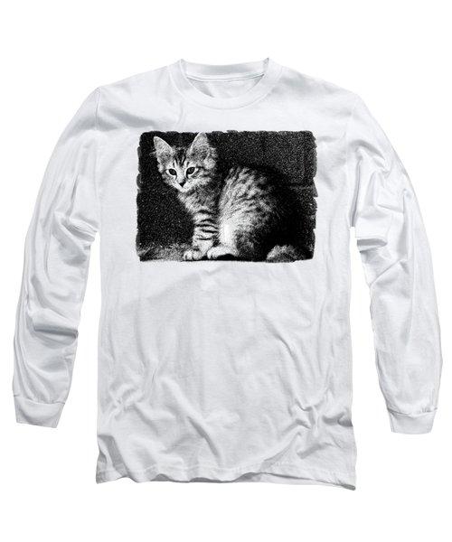 Kitten Cleo Long Sleeve T-Shirt