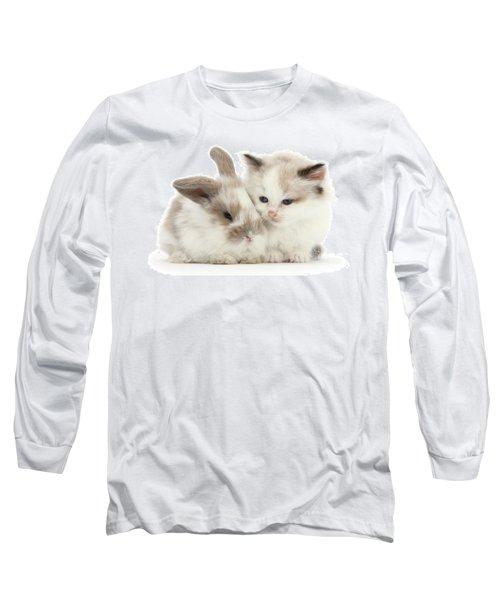 Kitten Cute Long Sleeve T-Shirt