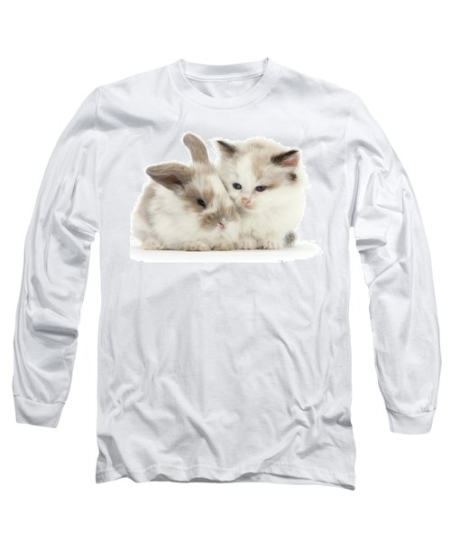 Kitten Cute Long Sleeve T-Shirt
