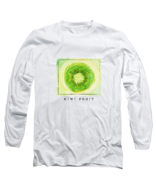 Kiwi Fruit Long Sleeve T-Shirt