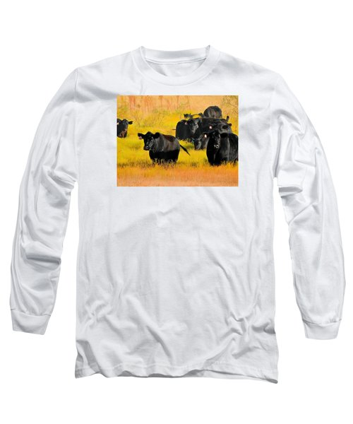 Knee High In Color Long Sleeve T-Shirt by Laura Ragland