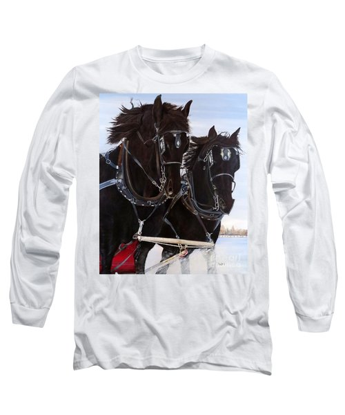 Knights On Four Long Sleeve T-Shirt