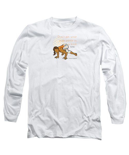 Knot Pose 2 Long Sleeve T-Shirt