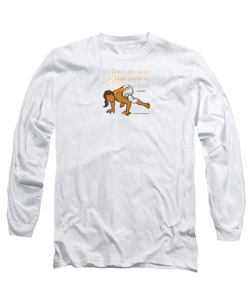 Knot Pose 2 Long Sleeve T-Shirt