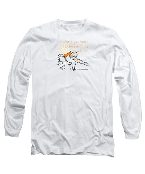 Knot Pose Long Sleeve T-Shirt