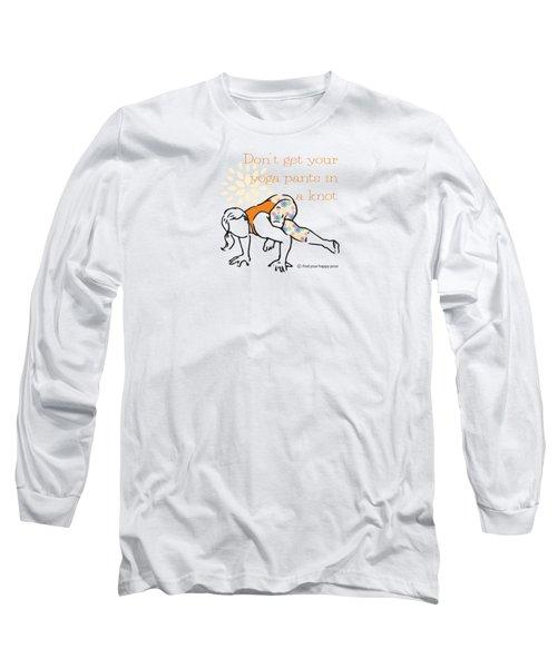 Knot Pose Long Sleeve T-Shirt