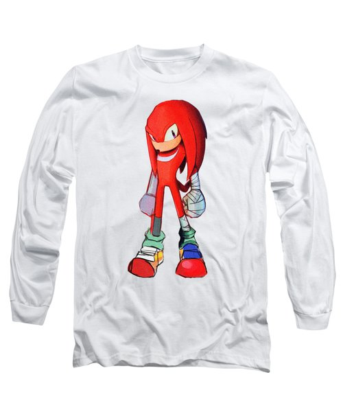 Knuckles Sketch Long Sleeve T-Shirt