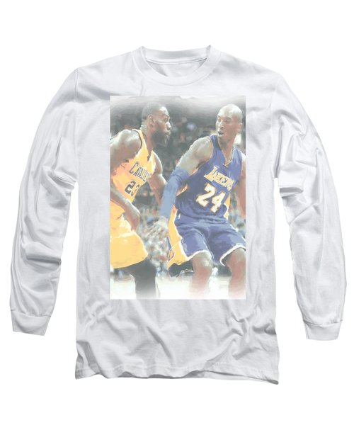 Kobe Bryant Lebron James 2 Long Sleeve T-Shirt