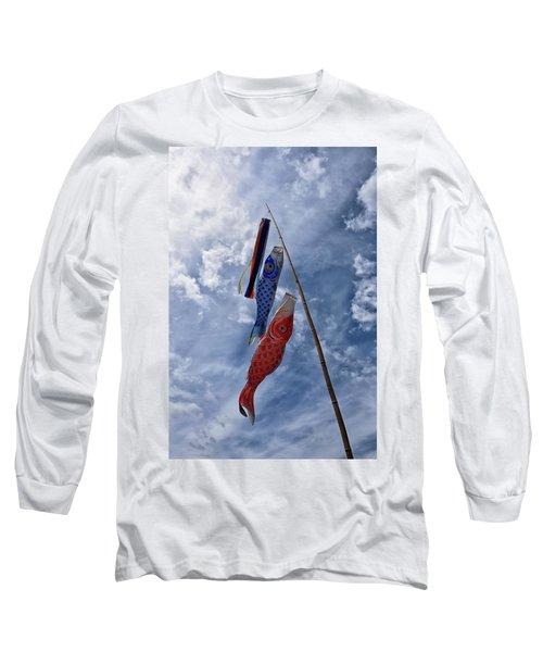 Koinobori Long Sleeve T-Shirt