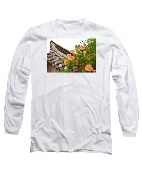 Long Sleeve T-Shirt featuring the photograph Korean Beauty by Cameron Wood