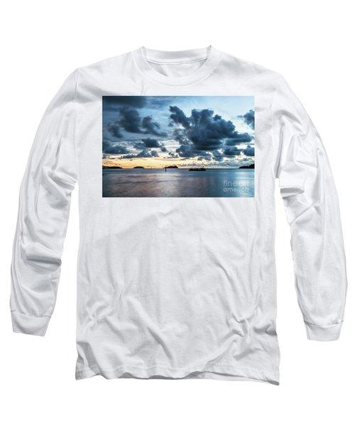 Kota Kinabalu Sunset Long Sleeve T-Shirt