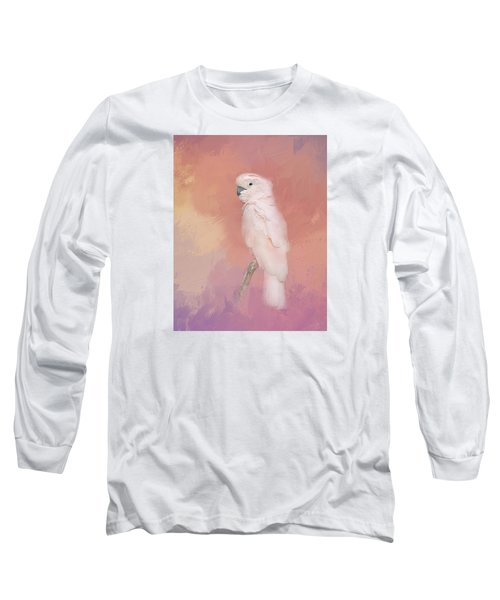 Long Sleeve T-Shirt featuring the photograph Kramer The Moluccan Cockatoo by Theresa Tahara