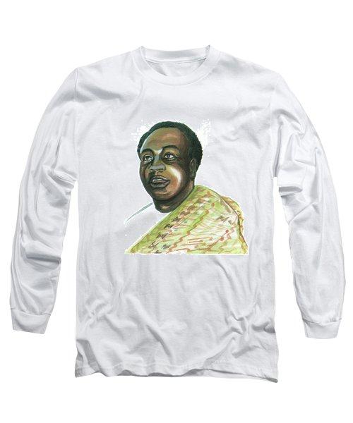 Kwame Nkrumah Long Sleeve T-Shirt