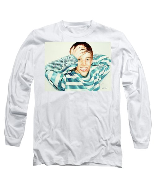 Kyle's Smile Or Fragile X Stressed Long Sleeve T-Shirt
