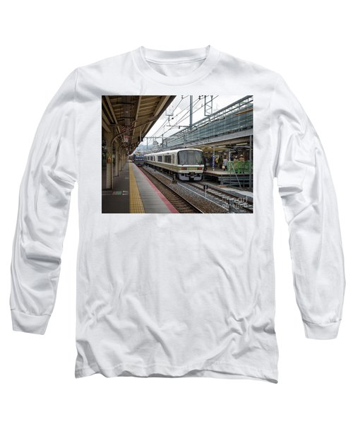 Kyoto To Osaka Train Station, Japan Long Sleeve T-Shirt