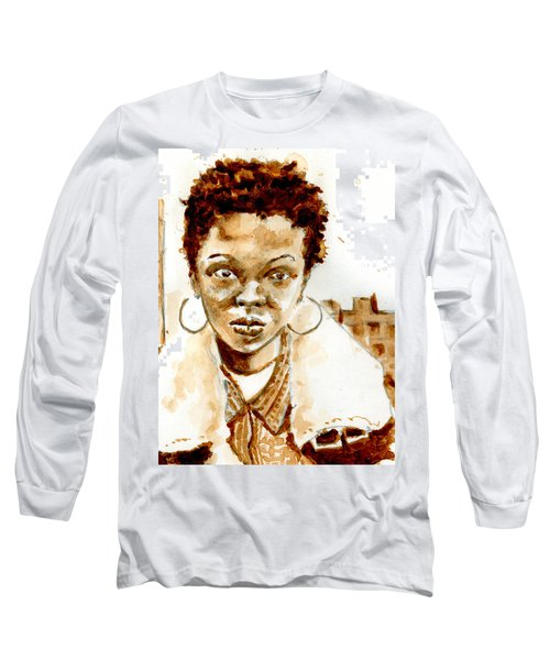L Boogie Long Sleeve T-Shirt by Howard Barry