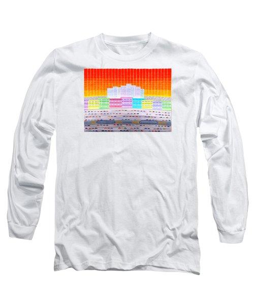 L.a. Cityscape Long Sleeve T-Shirt