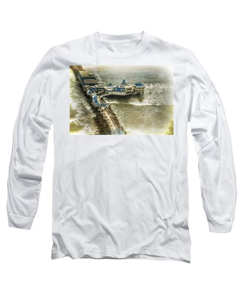 Long Sleeve T-Shirt featuring the photograph La Rosa Nautica - Peru by Mary Machare