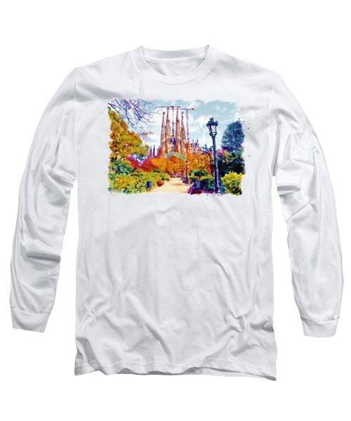 La Sagrada Familia - Park View Long Sleeve T-Shirt