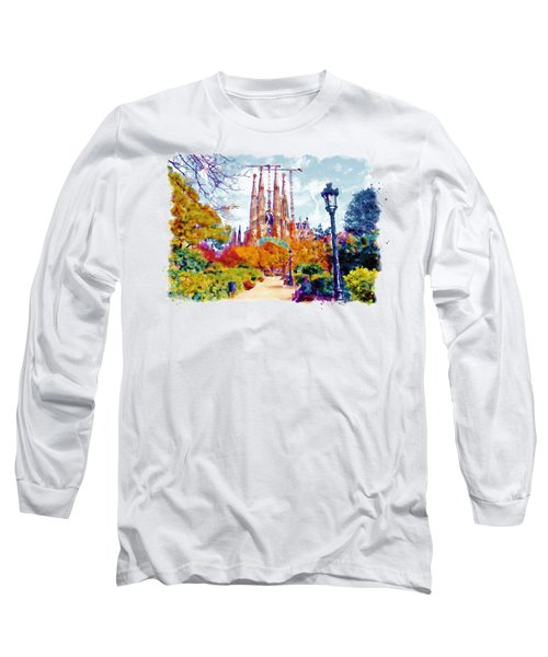 La Sagrada Familia - Park View Long Sleeve T-Shirt