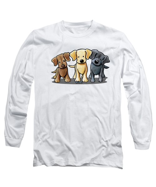 Labrador Beach Trio Long Sleeve T-Shirt