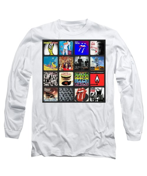 Ladies And Gentlmen The Rolling Stones Long Sleeve T-Shirt