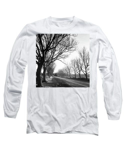 Lady Anne's Drive, Holkham Long Sleeve T-Shirt by John Edwards