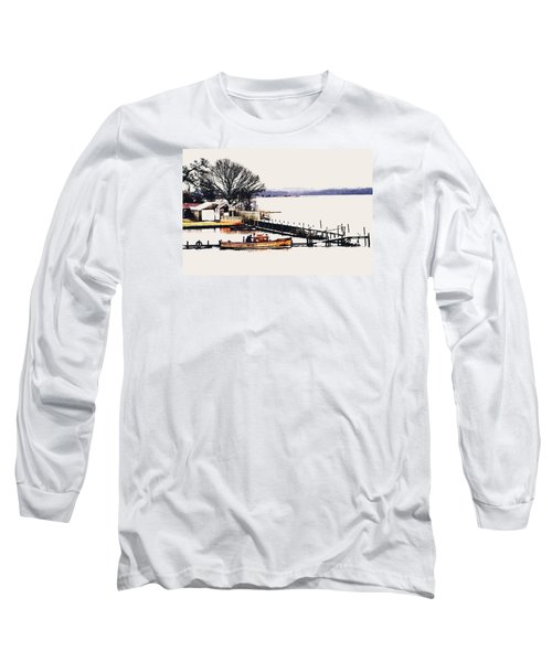 Long Sleeve T-Shirt featuring the photograph Lady Jean by Jeremy Lavender Photography