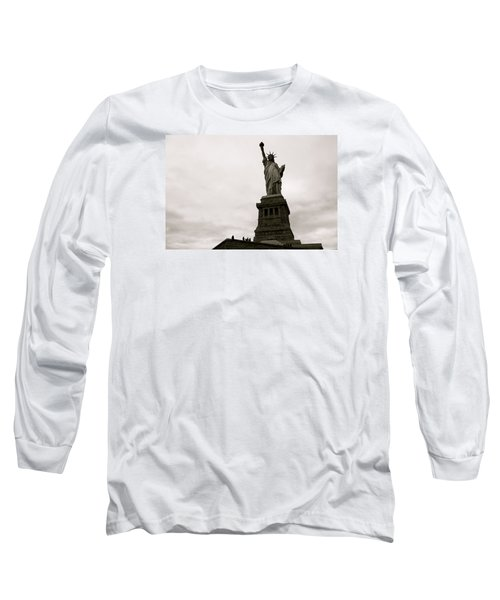 Lady Liberty Long Sleeve T-Shirt