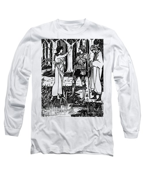 Lady Of The Lake Long Sleeve T-Shirt