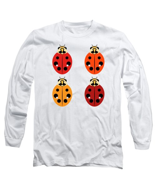 Ladybug Quartet Long Sleeve T-Shirt