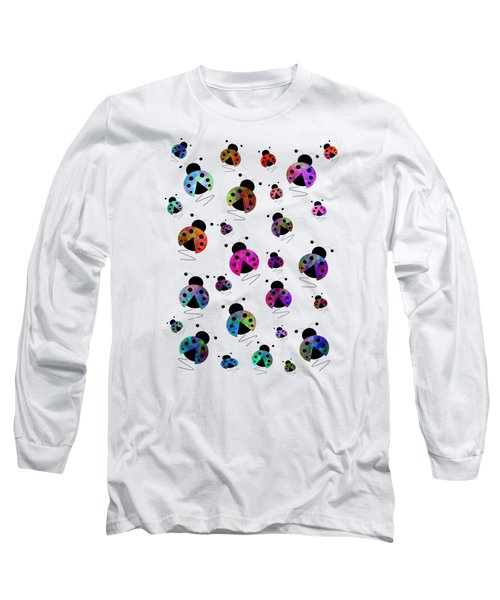 Ladybugs In Flight Long Sleeve T-Shirt