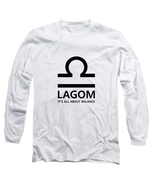 Lagom - Balance Long Sleeve T-Shirt