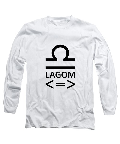 Lagom - Less Is More II Long Sleeve T-Shirt