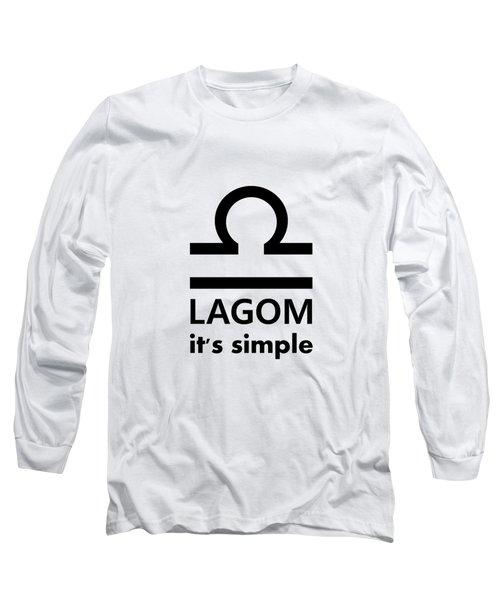 Lagom - Simple Long Sleeve T-Shirt