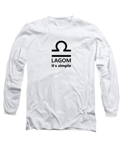 Lagom - Simple Long Sleeve T-Shirt