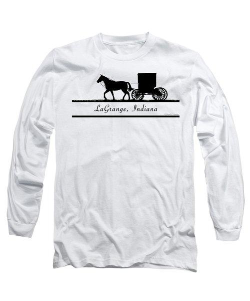 Lagrange Indiana T-shirt Design Long Sleeve T-Shirt